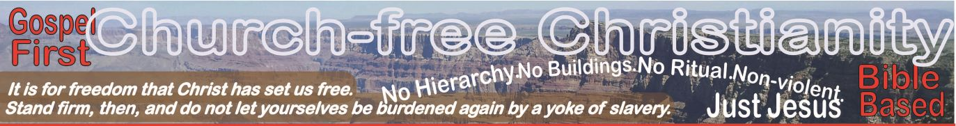 Church-free Christianity